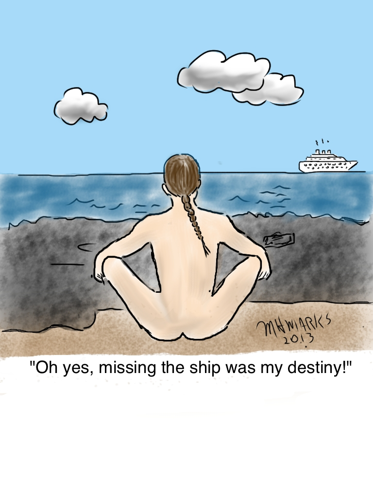 Missed the ship