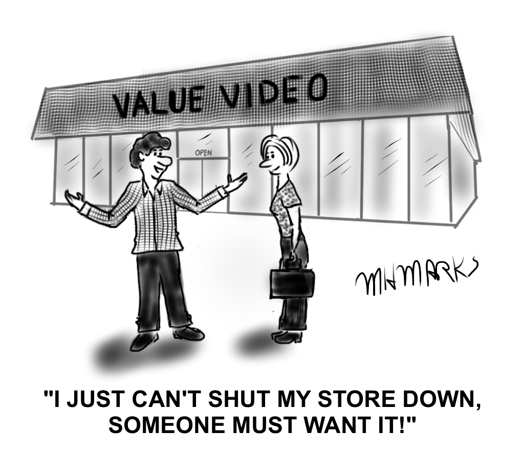 Who would buy a video store?