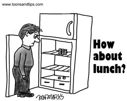 Email Insert – How about lunch?