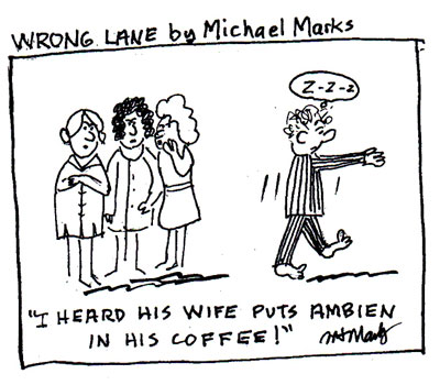 Ambien in the Coffee