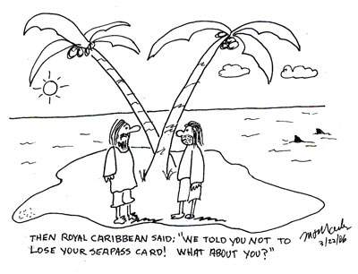 Don't lose your Seapass Card