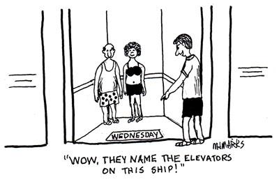 Elevator named Wednesday
