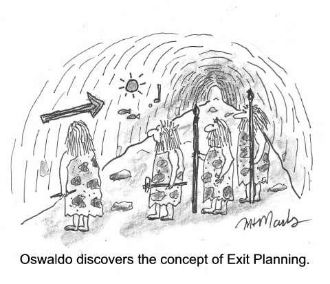 Cavemen Exit Planning