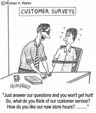 How's your customer service doing?