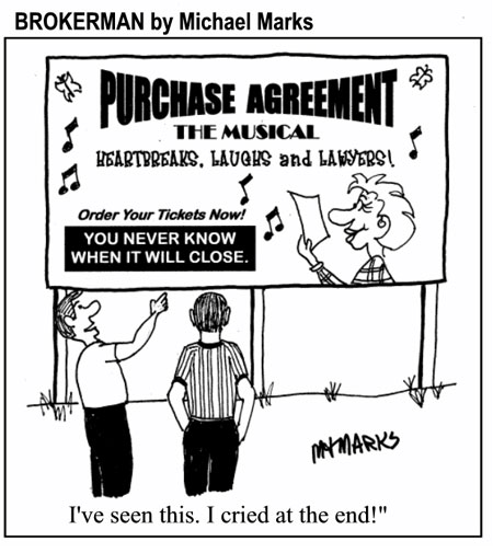Purchase Agreement – the play