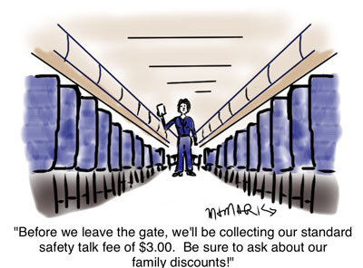 Safety talk can cost you