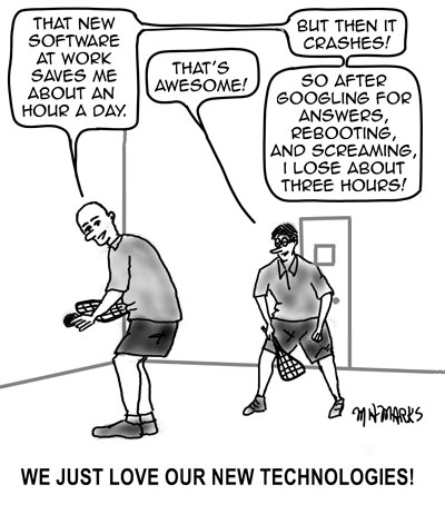 New technology is great…or is it?