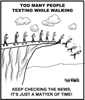 Texting Lemmings