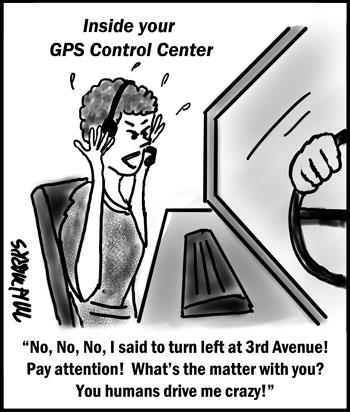 Turn left!