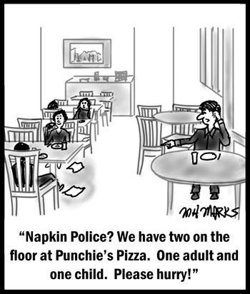 Napkin Police
