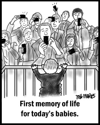 Baby's first memory