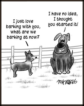 Love to bark