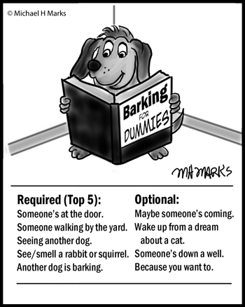 Barking for Dummies