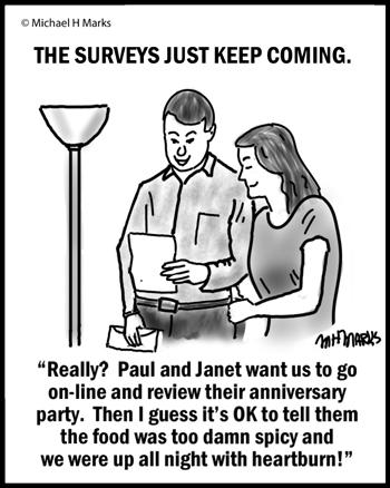 Too many surveys