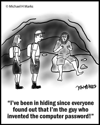 Man in hiding
