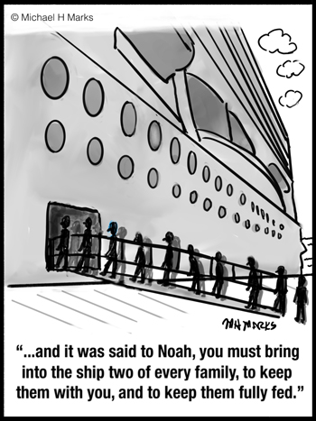 It was said to Noah