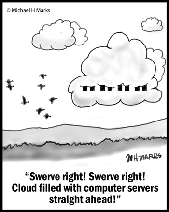 Avoid that cloud!