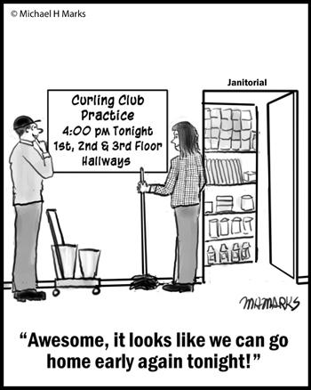 Curling practice