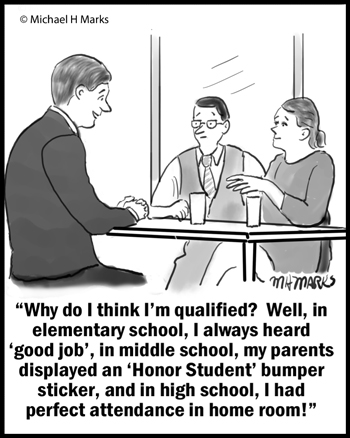 Qualified for job