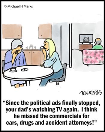 Political ad rehab