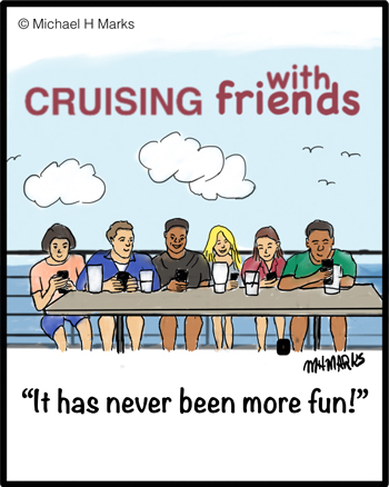 Cruising with friends