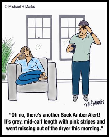 Sock Amber Alert