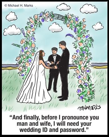 Wedding password