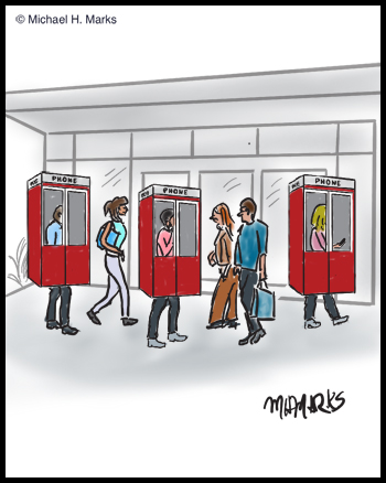Portable phone booths