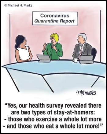 Corona Virus Quarantine report