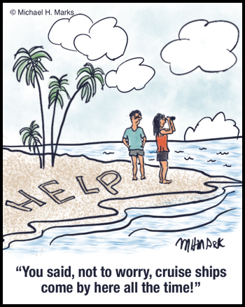 Help, where's the cruise ships?